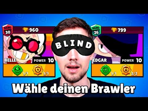 Ich muss BLIND Brawler wählen! 🙈 Brawl Stars Turnier