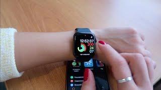Apple Watch Series 4 / НАСТРОЙКА / ОБЗОР