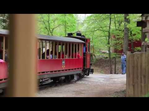 Silver Dollar City Frisco Silver Dollar Train Ride April 2019