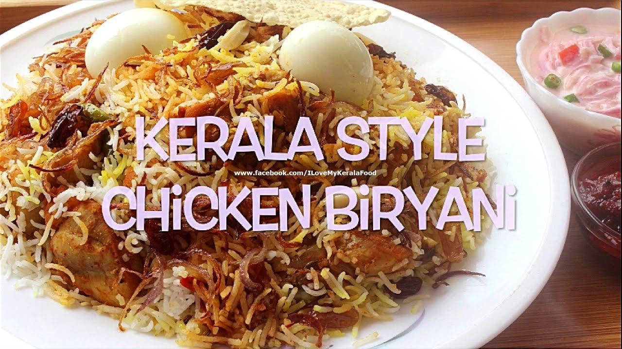 Chicken biryani kerala muslim style - photo#48