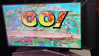 Super Smash Bros. Ultimate - D1 (Marth, Mario) vs Larry Lurr (Fox, Link)