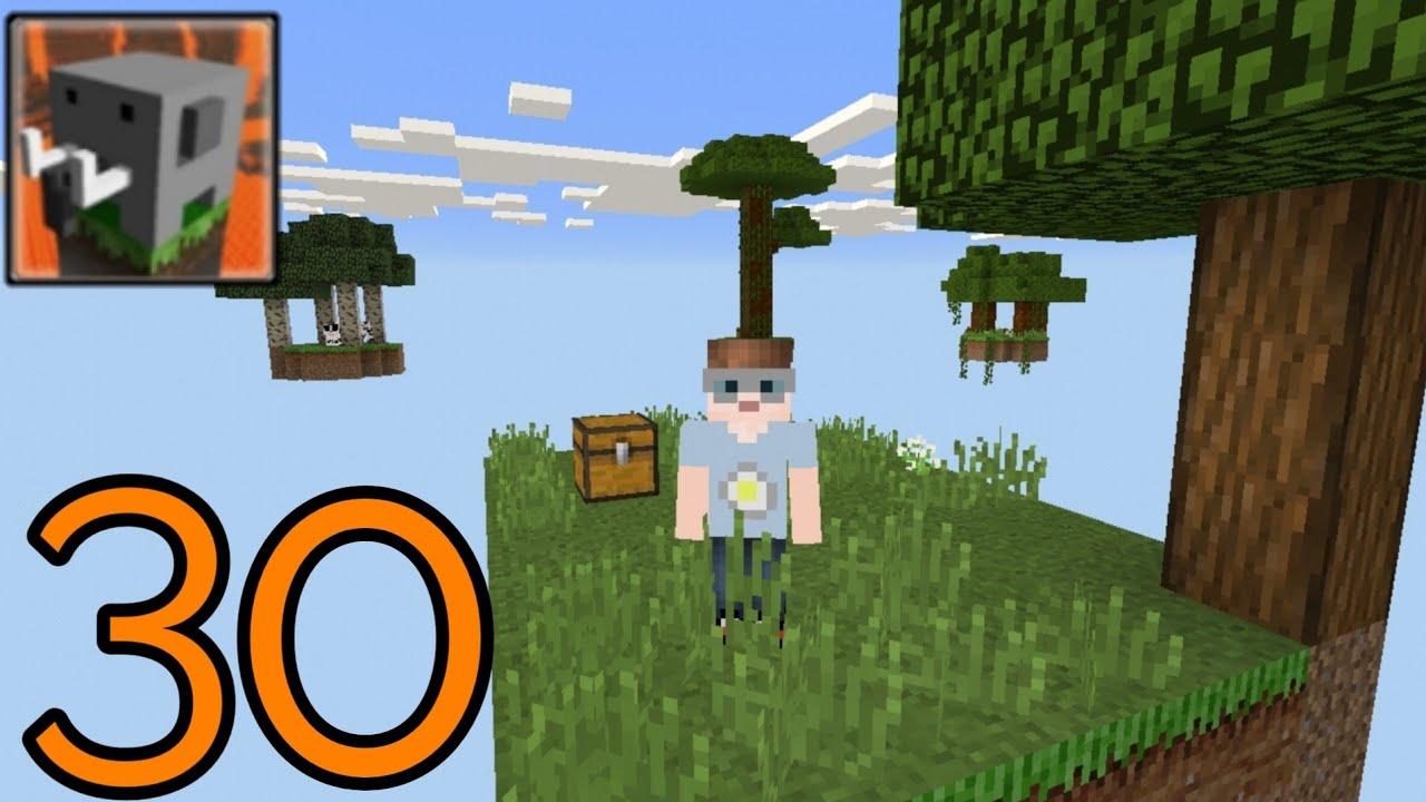 Craftsman Building Craft - New SkyBlock Map - Gameplay Part 30