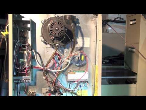 replacing the robertshaw hs 780 control with the honeywell s8610u on the  gas furnace  part 5 - youtube