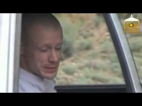 Taliban video shows handover of U.S. soldier Bowe Bergdahl