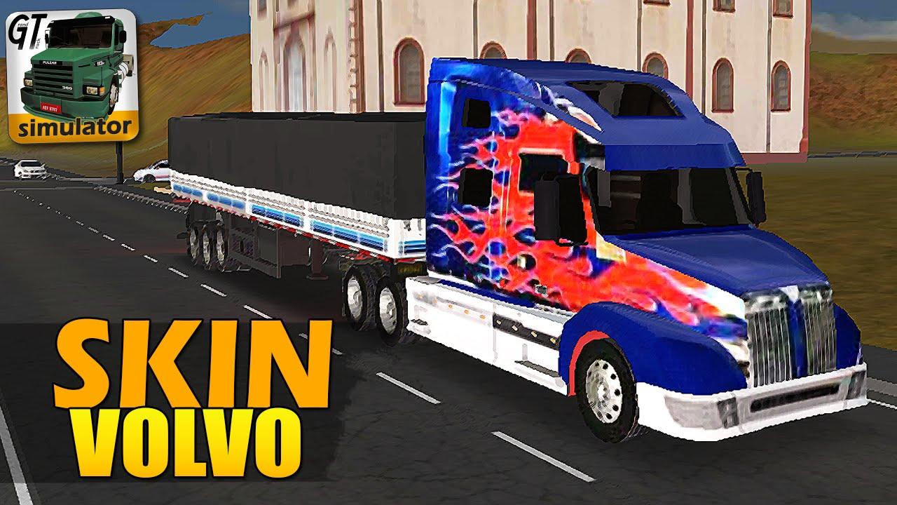 Grand Truck Simulator Skin Do Optimus Prime Youtube