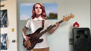 lana del rey - summertime sadness (bass cover)