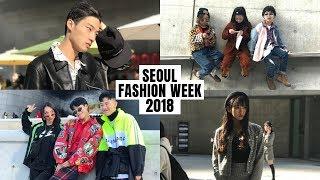 SEOUL FASHION WEEK 2018 - 2019