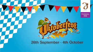 Oktoberfest at Cheers Pub - 26th September - 04th October 2020