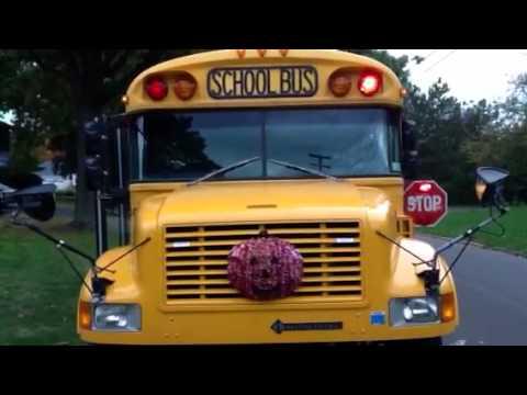 school bus warning lights youtube