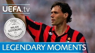 Van Basten hits four for Milan (1992)