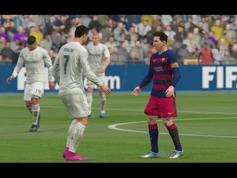 FIFA 16 (Xbox One) – Real Madrid vs Barcelona (El Clásico) Simulation