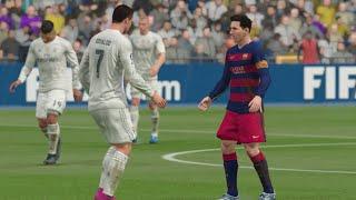FIFA 16 (Xbox One) - Real Madrid vs Barcelona (El Clásico) Simulation
