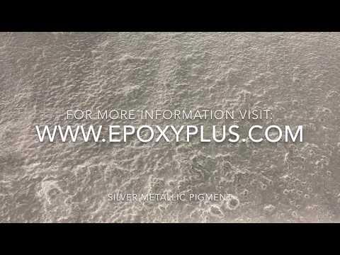 SILVER EPOXY COATING AT EPOXY PLUS