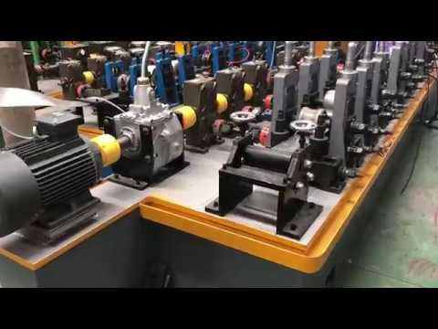 Russia market high demand industrial SS / GI pipe making machine tube mill line