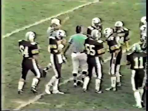 Colorado High School Football Pueblo Centennial Bulldogs at Palmer Terrors September 5, 1987