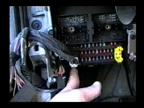 1999 jeep grand cherokee bcm replacement youtube rh youtube com