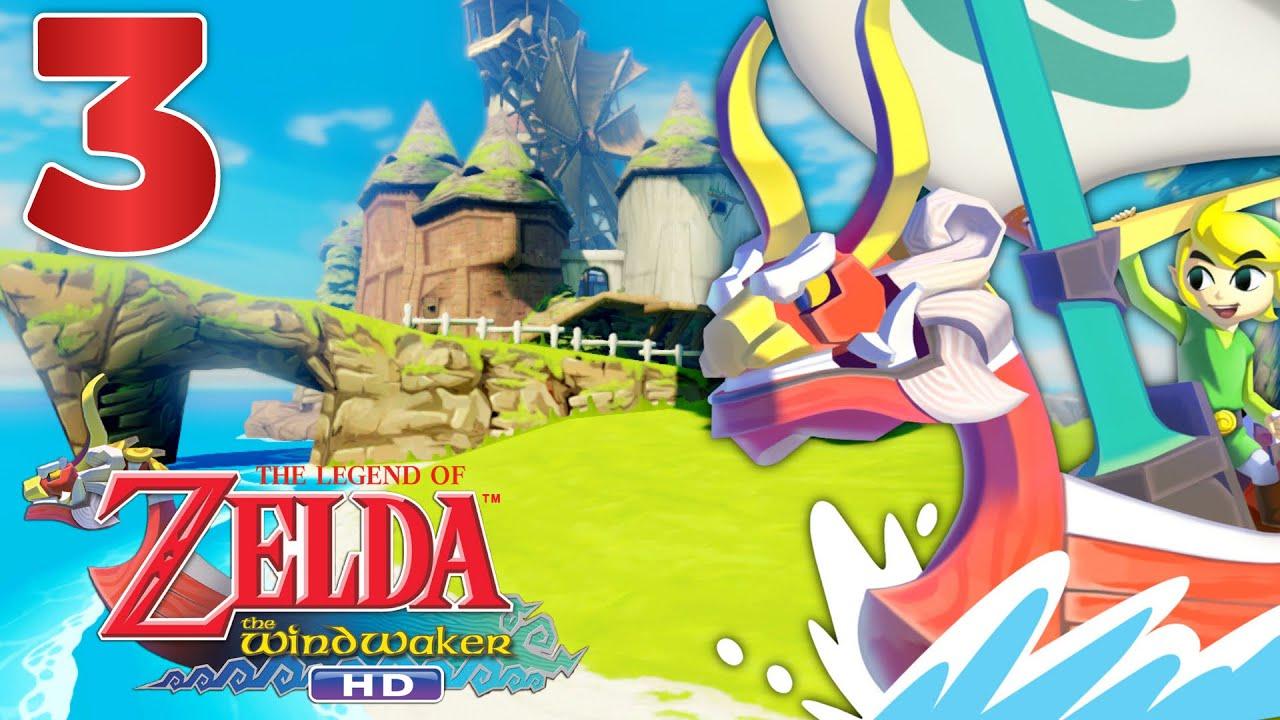 Zelda Wind Waker Hd Episode 3 Fr Wii U On A Une Voile Youtube