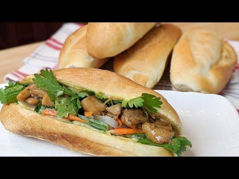 recette-banh-mi-au-poulet-rôti,-vrai-bon-sandwich-vietnamien!