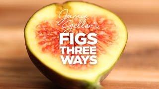 Fig Recipes (3 Ways)