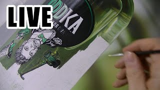 Painting Live - Green Bottle - 10th
