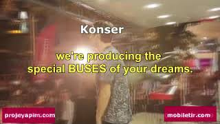 Showtruck, Custom Bus , Event Truck, MARKETİNG TRUCK MANUFACTURING