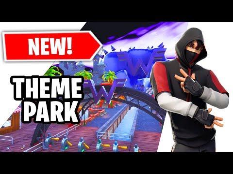 The *NEW* Fortnite Creative AMUSEMENT PARK!