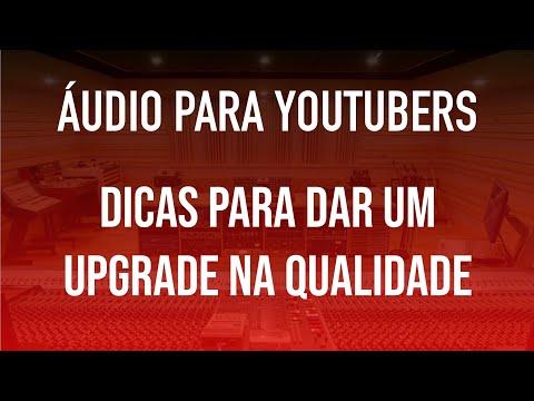TUTORIAL - Melhorando o áudio do seu vídeo (vlog)