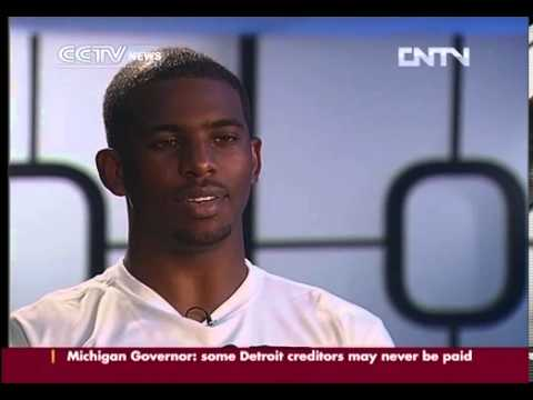 Exclusive interview with Chris Paul