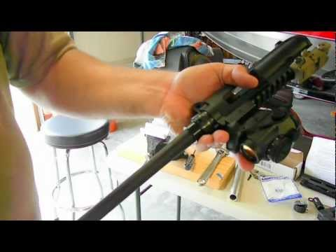 How to Swap your Factory hand guard rail on a M&P 15-22