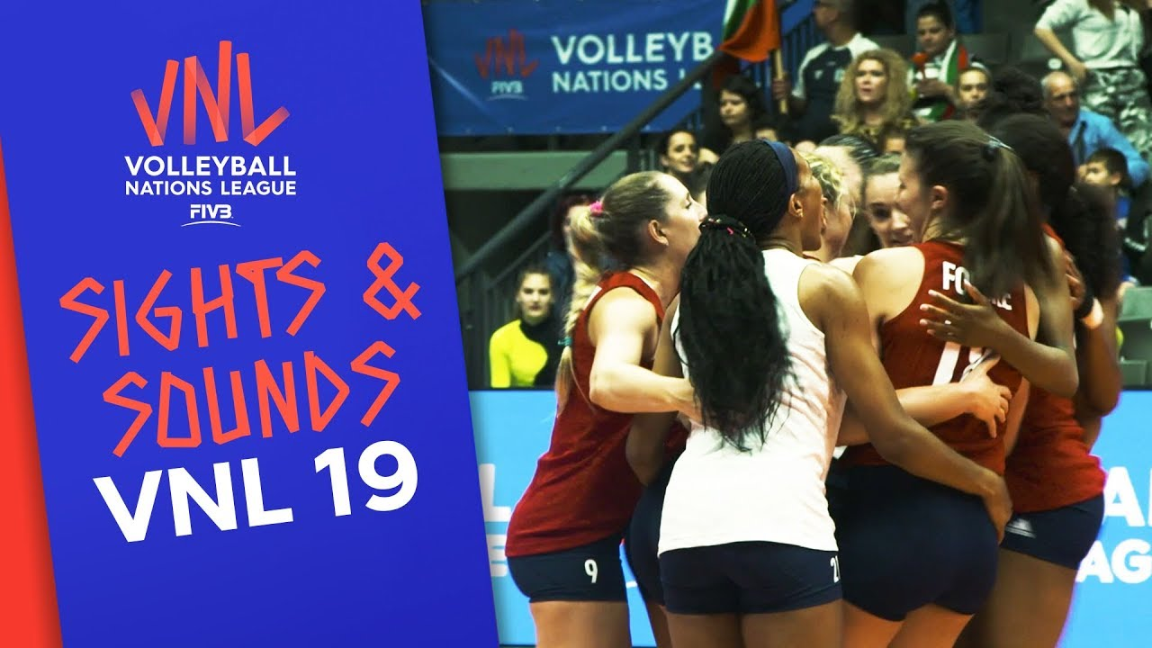 The sights and sounds around the VNL 2019! | Volleyball Nations League 2019