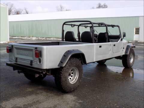 1984 Jeep CJ16 Crew Cab Short Bed CJ Pickup like wrangler cj7 cj8 hummer rover fj