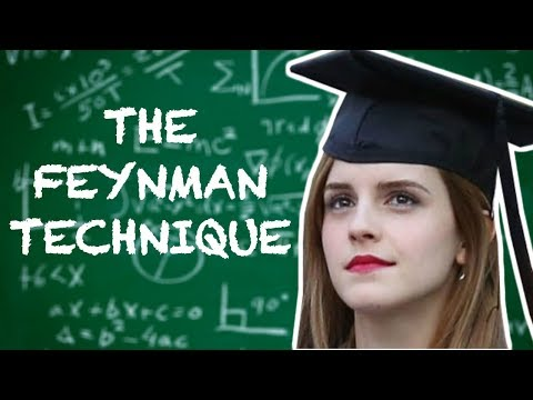 Download Youtube: The Feynman Technique - Learn Difficult Concepts Faster - How to Learn Anything in 4 Steps