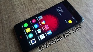 ZTE Nubia Z11 Mini тот случай когда все нравится! распаковка и мини обзор новинки.