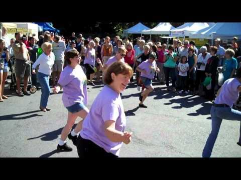 Flash Mob at Reston Farmer's Market