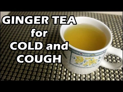 How to Make the Perfect Ginger Tea (Cold and Cough Remedy)