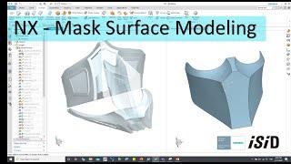 NX - Mask Surface Modeling