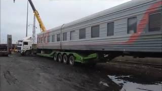 видео Негабаритные перевозки в Ростове