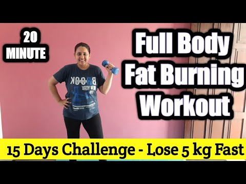 Full Body Fat Blasting Easy Home workout | Full Body Workout | 15 Days Challenge | Lose 5 Kg Fast