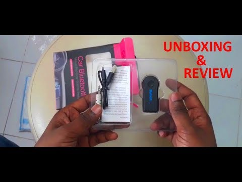 Car Bluetooth Device ! Unboxing & Short Look Review ! Car Bluetooth Music Receiver ! Technical Guide