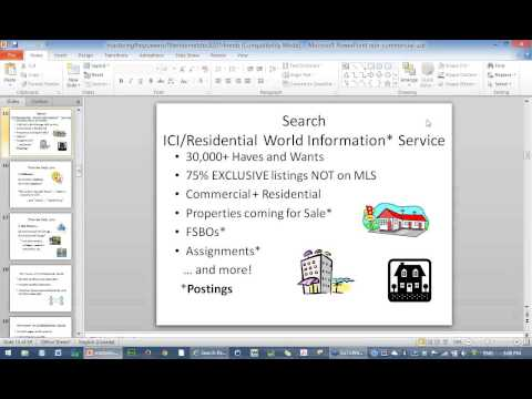 ICIWorld.com How to Work Exclusive Real Estate Information and Mastering the Powers of the Internet