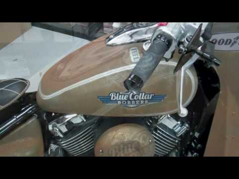 Blue Collar Bobbers Rusty Rat Bikes