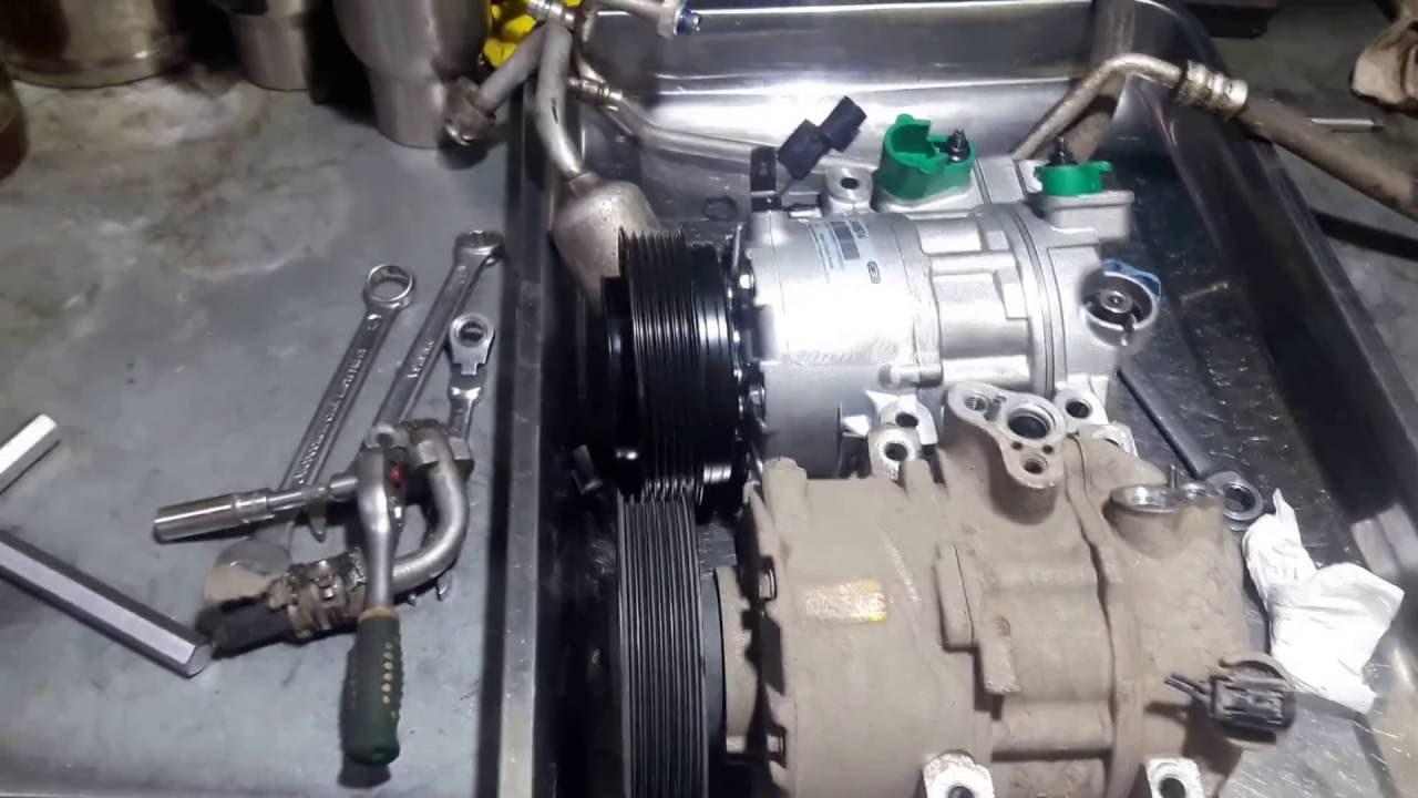 Снятие и установка компрессора кондиционера краснодар кондиционер в кредит