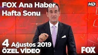 İstanbul - İzmir otoyolu açıldı! 4 Ağustos 2019 FOX Ana Haber Hafta Sonu