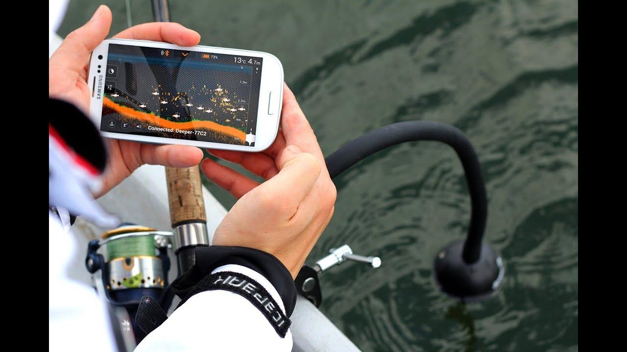 deeper smart fish finder depth finder for smartphone or tablet, Fish Finder