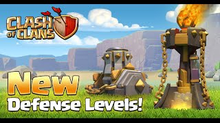 COC UPDATE SNEAK PEEK 1 NEW INFERNO / MORTAR LEVELS & MORE [Clash Of Clans]