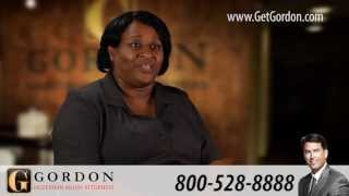 Rear-End Truck Crash | Actual Client Testimonial - Paulette James | Gordon McKernan
