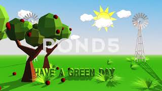 Have A Green Day After Effects Project