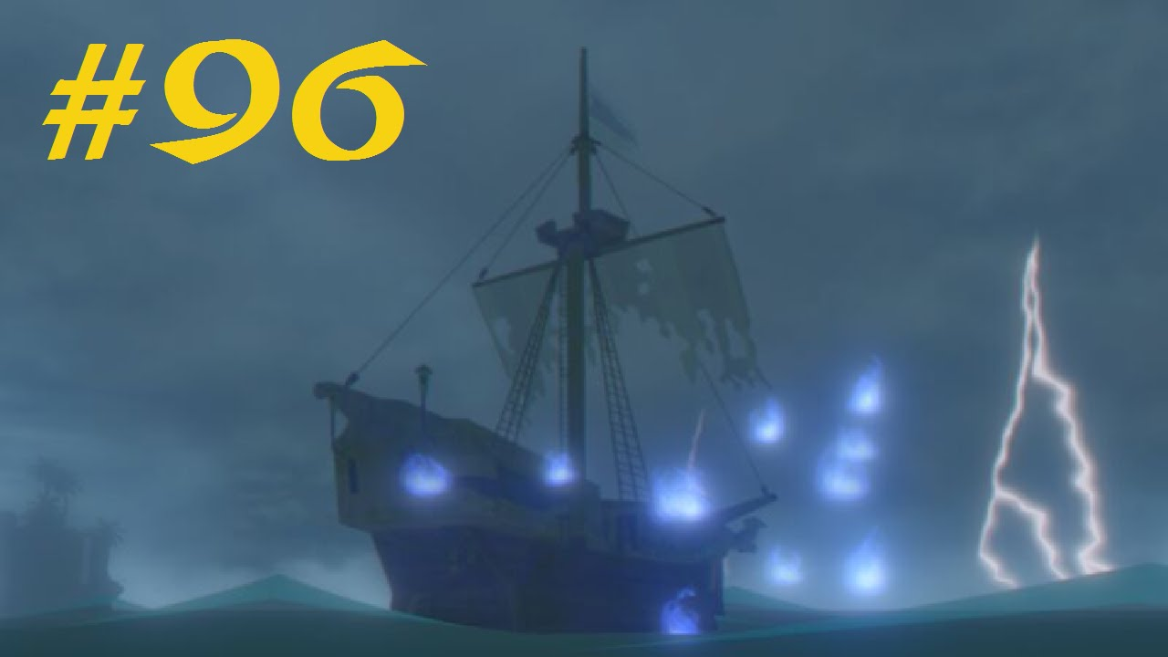 how to stop ghost ship wind waker