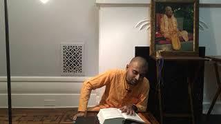 "Class - Visnu-citta Prabhu - SB 1.2.20 - ""Science of Krishna: Gaining Positive Knowledge"""