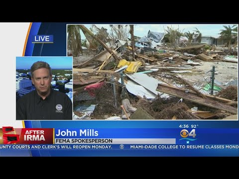 FEMA: Recovery From Irma Will Be Measure 'In Months And Years'
